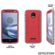POETIC Shockproof Case Cover for Motorola Moto Z Force /Moto Z Force Droid Pink