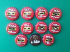 Poland  Bottle Caps of beer 11 pcs. - Kapsle z piwa 11 szt.
