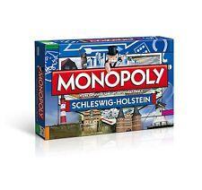 ORIGINALE Monopoly Schleswig-Holstein regione EDITION EDIZIONE GIOCO DA TAVOLO GIOCO NUOVO