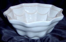 Antique Mintons White Ironstone Pudding Jelly Mold A1