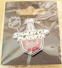 2014 Stanley Cup Playoffs logo lapel pin NHL SC Montreal Canadiens