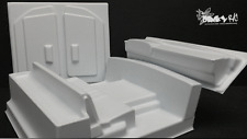 "Dinky R/C's ""Honcho"" Interior Kit (White) /Axial SCX10"