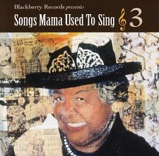 NEW Songs Mama Used to Sing 3 (Audio CD)