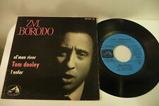 ZVI BORODO 45T TOM DOOLEY/ L'ENFER/ OL' MAN RIVER. EGF 408 FRENCH.