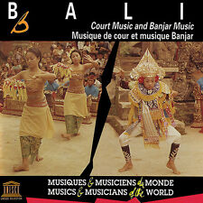 Bali: Court Music & Banjar Music - Various Artist (2015, CD NEUF)