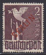 Berlin 1949 Mi.Nr. 34 gestempelt 2 M Rotaufdruck geprüft Schlegel BPP