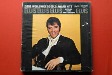 ELVIS PRESLEY 50 GOLD AWARD HITS W/BOOKLET ORIGINAL EXYUGO 4LP BOX SET