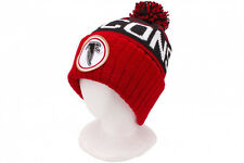 Atlanta Falcons Mitchell and Ness Cuffed Pom Knit Hat Black NWT