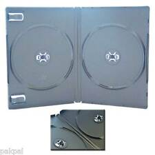100 14mm Rare Wide Double 140mm (2) Black DVD Case, M-Lock Hub,FD-1005