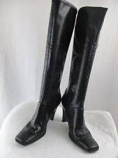 """NINE WEST """"Caseriao"""" Women's Knee-High Boots, Brown PU Leather, Size 6.5M"""