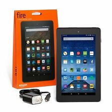 "Kindle Fire, 7"" Display, Wi-Fi, 16GB -Special Offers, 2017 Version with ALEXA!"
