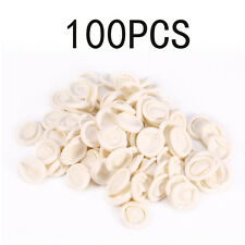 100Pcs Small Rubber Gloves Finger Cots Latex Fingertips Protective Disposable ZM