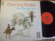 Marrying Maiden - It's a Beautiful Day - UK 1970 CBS LP
