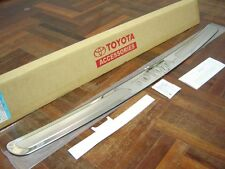 STAINLESS REAR BUMPER STEP GUARD FOR NEW TOYOTA FORTUNER 2011-2013 GENUINE PARTS