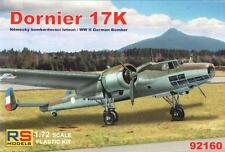 DORNIER Do 17 K (YUGOSLAVIAN, HUNGARIAN & BULGARIAN AF MARKINGS) 1/72 RS MODEL