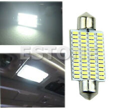 Bright 42mm 48-LED 3014 SMD Car Interior Festoon Dome Light Bulb Lamp White 12V