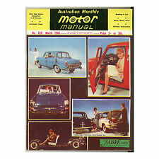 Motor Manual 1966 March 03/66 - Skyline GT, Studebaker Cruiser, Truimph Spitfire