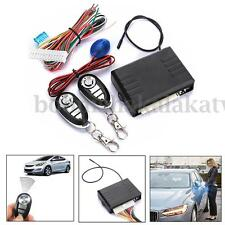 Universal Car Remote Central Control Door Lock Locking Keyless Entry System Kit