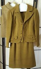 Vintage Woman's 3 Piece Skirt Suit Jacket Sweater Approx Size 4; Johnathan Logan