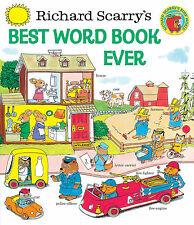 Best Word Book Ever by Richard Scarry (Hardcover) - New