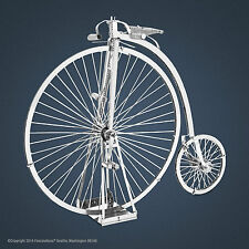 Metal Earth Penny-Farthing High Wheel Bicycle Laser Cut 3D Model Kit