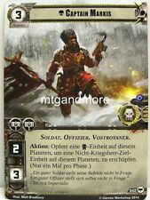 Warhammer 40000 Conquest LCG - Captain Markis  #042 - Base Set dt.