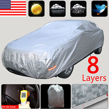 8 Layers Soft Aluminum Seamless Car Cover Anti UV SUV Dust Protection Outside A2