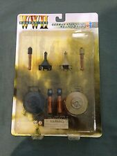 "Dragon WWII German 1/6 scale 12"" Anti-Tank Mine Grenade Weapon Set B 71034 LOOSE"