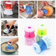 Cuisine Laver outil vaisselle palme Brosse laveur nettoyage plastique Nettoyeur