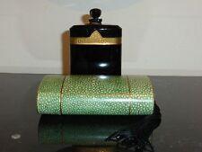 VINTAGE CARON NUIT DE NOEL EMPTY PERFUME BOX BACCARAT BOTTLE