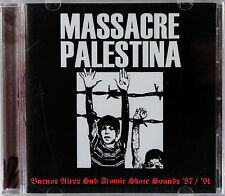 Massacre Palestina -Buenos Aires Sub Atomic Skate Sounds '87 / '91(CD) New