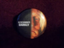 """A Scanner Darkly 2006 Movie Promotional 1-7/16"""" Pinback Pin Badge Button"""