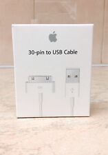 Original Apple iPhone 4S/4/3 iPad 1 2 3USB Charger Data Sync Cable In Retail Box