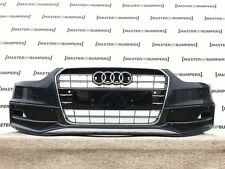 AUDI A4 S LINE HIGHLINE FACE LIFT 2012-2015 FRONT BUMPER IN BLACK GENUINE [A318]