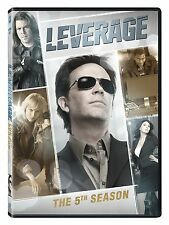 Leverage . The Complete Season Five . 5. Staffel . Timothy Hutton . 4 DVD . NEU