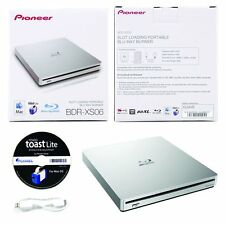 Pioneer BDR-XS06 6X Slim Blu-Ray Portable DVD CD External Burner Drive+Software