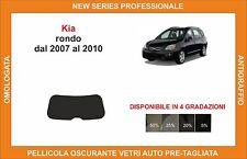 pellicola oscurante vetri pre-tagliata Kia rondo dal 2007-2010 kit lunotto