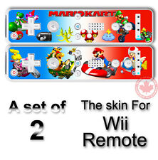 MARIO KART SKIN STICKER COVER for NINTENDO Wii Remote