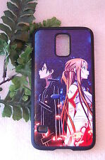 Samsung Galaxy S5 SV Anime Leather Phone case Cover SAO Sword Art Online
