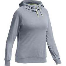 Icebreaker Women Sphere LS Hood Hoody (M) Mineral Heather