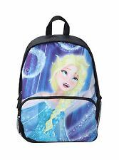 """DISNEY FROZEN  ELSA GIRL'S 16"""" BACKPACK SCHOOL BOOK BAG NWT!"""
