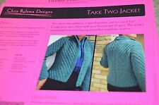 Take Two Jacket Knitting Pattern by Christine Bylsma 35-47