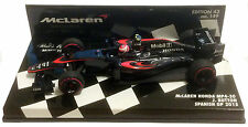Minichamps McLaren Honda MP4-30 #22 Spanish GP 2015 - Jenson Button 1/43 Scale