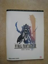 //MINI GUIDE FINAL FANTASY XII 36 PAGES PIGGY BACK INTERACTIVE COMME NEUF