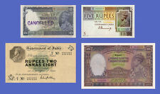 INDIA - Lots of 4 notes - 5...1000 Rupees - Reproductions