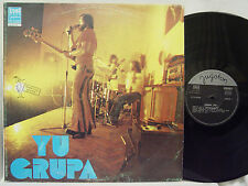 YU GRUPA - S/T LP (RARE Yugoslav Import, Debut Album, Bluesy Psych)