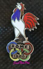 1960 ROME OLYMPIC PIN BADGE FRANCE NOC PINS