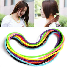 Colorful Spiral Phone USB Data Charging Cable Cord Wrap Protector Winder 10xz