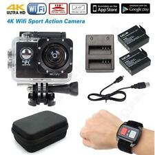 Full HD 4K@30fps SJ8000 WiFi Sports Action Camera w/Remote+Battery+Charger+Case