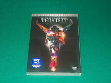 Michael Jackson's This Is It (2 Dvd) Regia di Kenny Ortega black cover